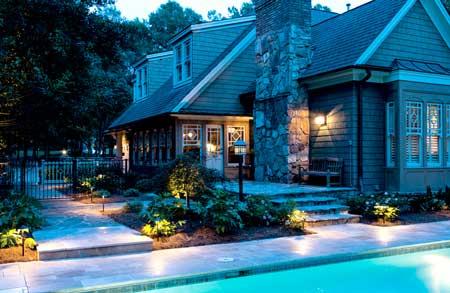 Ourdoor Pool Lighting